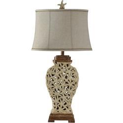 Open Weave Starfish Table Lamp