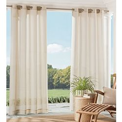 Parasol Summerland Key Sheer Curtain Panel