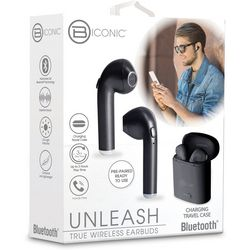 Bytech Unleash Wireless Earbuds with Charging Travel Case