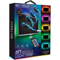 Bytech 6 Ft. Multi Color Light Strip