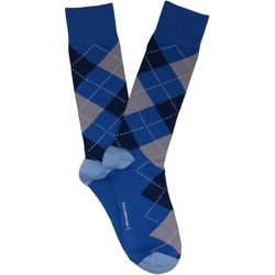 TailorByrd Mens Argyle Print Crew Socks