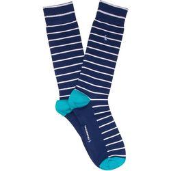 TailorByrd Mens Stripe Crew Socks