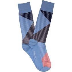 TailorByrd Mens Colorblock Stripe Crew Socks