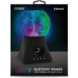 Coby Light Up LED Vortex Bluetooth Speaker