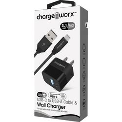 Chargeworx 2-pc. Micro USB Wall Charger Kit