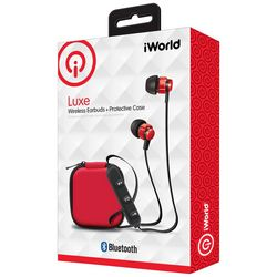 iWorld Luxe Wireless Earbuds with Protective Case