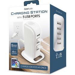 iWorld CoreAudio 5-Port USB Charging Station