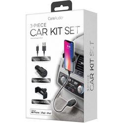 iWorld CoreAudio 3-pc. Car Charger Set
