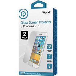 iWorld 2-pk. iPhone Glass Screen Protectors