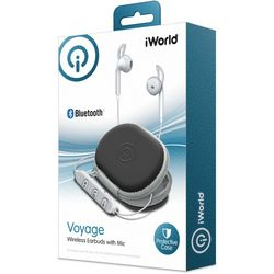 iWorld Voyage Wireless Earbuds with Protective Case