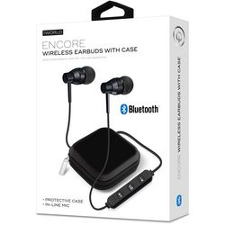 iWorld Encore Wireless Earbuds with Protective Case