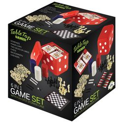 Fine Life 6 in 1 Game Set
