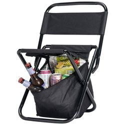 Nifty Outdoors Folding Chair With Cooler
