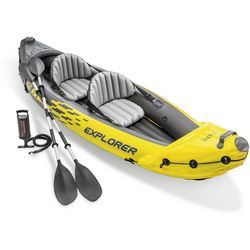 Intex Challenger K2 Inflatable Two Person Kayak
