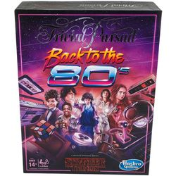 Hasbro Trivial Pursuit Stanger Things Back to the
