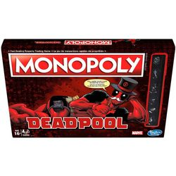 Hasbro Monopoly Game Marvel Deadpool Edition