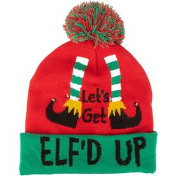 Wembley Holiday Let's Get Elf'd Up Light-up Beanie