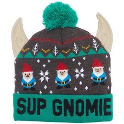 Wembley Mens Sup Gnomie Beanie Hat