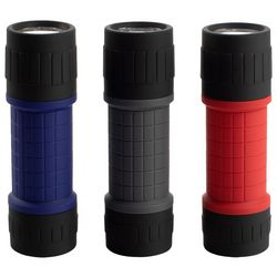 Avalanche 3-pk. Rubberized LED Flashlight