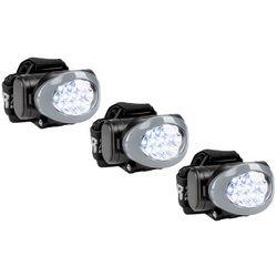 Car and Driver 3-Pk. LED Headlamp