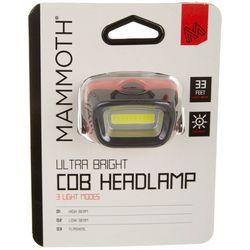 Mammoth Ultra Bright COB Headlamp