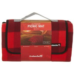 Avalanche Plaid Print Outdoor Picnic Mat