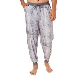 Reel Legends Mens Plaster Print Jogger Pajama Pants