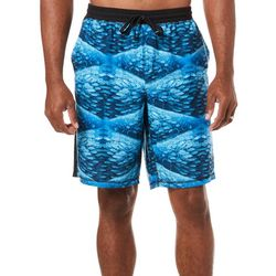 Reel Legends Mens Migration Print Pajama Shorts