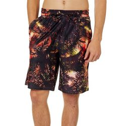 Reel Legends Mens Mystery Palms Pajama Shorts