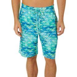 Reel Legends Mens Choppy Waters Pajama Shorts