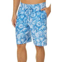 Reel Legends Mens Fish Tails Pajama Shorts