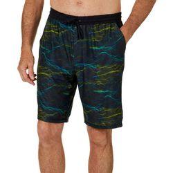 Reel Legends Mens Point Waves Pajama Shorts