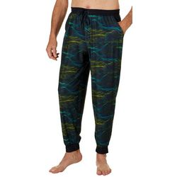 Reel Legends Mens Point Waves Jogger Pajama Pants