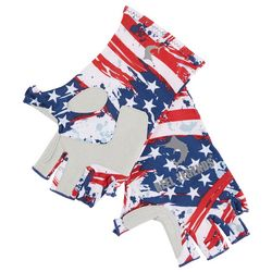 Reel Legends Mens Keep It Cool Painted Flag Gloves