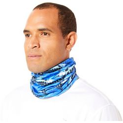 Reel Legends Mens Keep It Cool Marlin Swarm Neck Shield