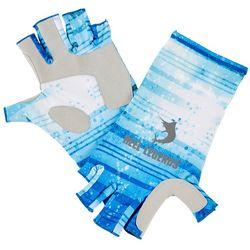 Reel Legends Mens Keep It Cool Striped Dorado Gloves