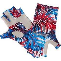 Reel Legends Mens Keep It Cool Americana Palms Gloves