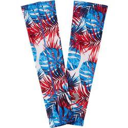 Reel Legends Mens Keep It Cool Americana Palms Sun Sleeves