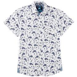 Life's A Beach Mens Pin-Up Beach Short Sleeve Shirt