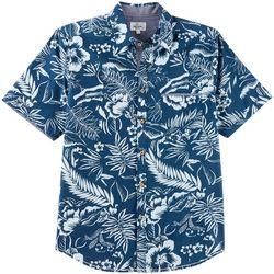 Burnside Mens Tropical Print Shirt