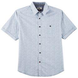 Burnside Mens Ditsy Floral Print Shirt