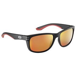 Flying Fisherman Mens Doubel Header Black Sunglasses