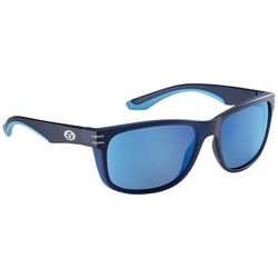 Flying Fisherman Mens Doubel Header Navy Sunglasses