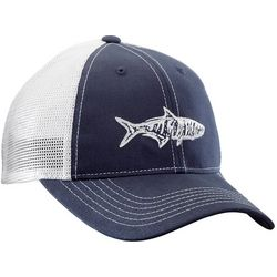 Flying Fisherman Mens Tarpon Navy Trucker Hat