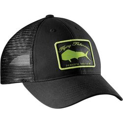 Flying Fisherman Mens Mahi Black Mahi Trucker Hat