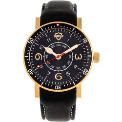 Shield Mens Gilliam Leather Band Watch