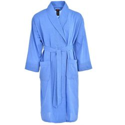 Hanes Mens Ultimate Solid Woven Shawl Robe