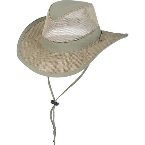 c65a27b37668b Dorfman Pacific Mens Supplex Mesh Safari Hat