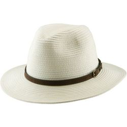 Scala Mens Paper Braid Safari Hat