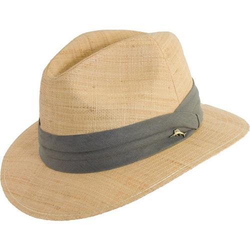 Tommy Bahama Mens Raffia Straw Panama Hat  a78d08060f8